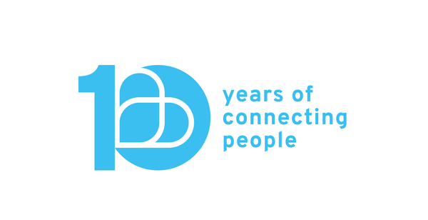 10 Years Of Connecting People Logo